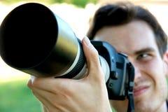 Fotograf Lizenzfreie Stockbilder