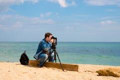 Fotograf Fotografia Stock