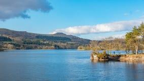 Fotograf bierze krajobrazową fotografię Obraz Royalty Free