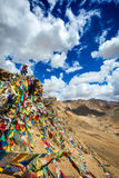 Fotograf, der Fotos im Himalaja macht lizenzfreie stockbilder