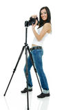 fotograf dosyć obraz stock