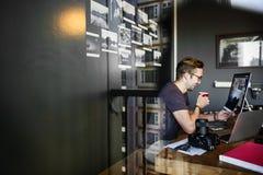 Fotograf-Fotograf Foto Photography-Konzept Lizenzfreie Stockbilder
