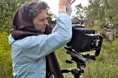 Fotograf i natur Royaltyfri Bild