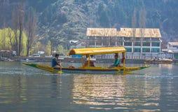 Fotograf i sjön Arkivbilder