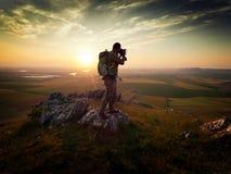 Fotograf im Freien Lizenzfreies Stockbild