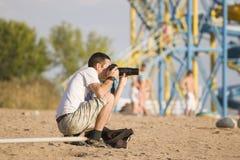 Fotograf kühl Stockfotografie