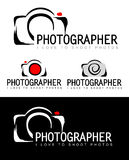 Fotograf Logo lizenzfreie abbildung