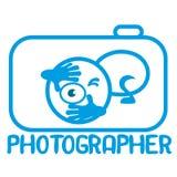 Fotograf Logo Royaltyfri Fotografi