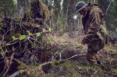 Fotograf pracy w lesie, Fotografia Royalty Free