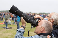 Fotograf samoloty obraz royalty free
