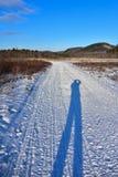 Fotograf Shadow Lizenzfreie Stockbilder
