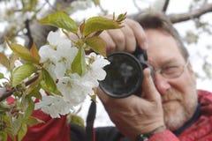 Fotograf Shooting Nature Royaltyfria Foton