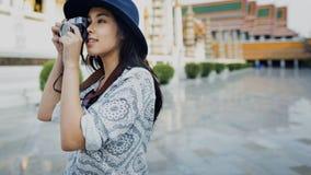 Fotograf-Travel Sightseeing Wander-Hobby-Erholungs-Konzept Lizenzfreie Stockbilder