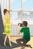 Fotograf und Baumuster Lizenzfreie Stockfotos