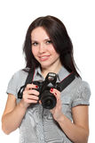 fotografa kobiety potomstwa Obraz Royalty Free