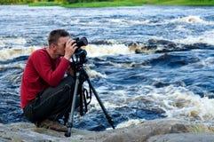 fotografa profesjonalista Obraz Stock