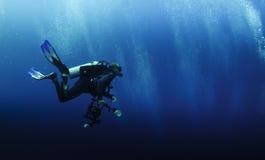 fotografa underwater Fotografia Royalty Free