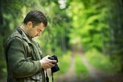 fotografa wziąć zdjęcie Zdjęcia Stock