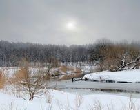 Rio Svisloch Foto de Stock