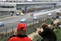 Fotografando auto raças fotografia de stock royalty free