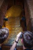 Fotografando a Buda Fotos de Stock Royalty Free
