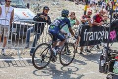 Fotografando os ciclistas Imagem de Stock Royalty Free