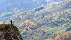 Fotografare autunno Fotografie Stock Libere da Diritti