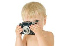 fotografbarn Arkivbilder