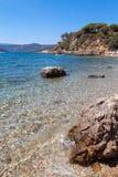 Ilha da Ilha de Elba, Toscânia, Itlay Imagens de Stock Royalty Free