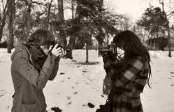 Fotografen Lizenzfreie Stockbilder