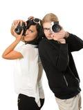 Fotografen Stock Fotografie