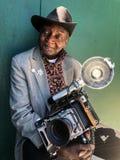 Fotografen Louis deltar i den 36th årliga sjöjungfrun ståtar i Coney Island royaltyfri bild