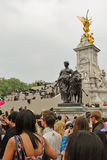 Fotografen am Prinzen William und Kate Middleton Lizenzfreies Stockbild