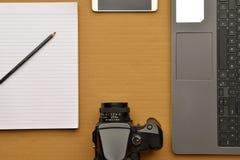 Fotografen Tischplatten Stockfoto