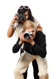 Fotografer Royaltyfria Bilder