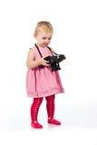 fotografera för barn arkivbild