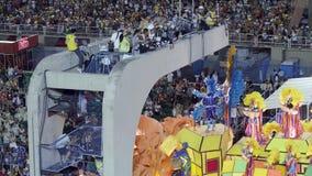 Fotografi alla parata dello stadio di carnevale di Sambodromo Immagine Stock