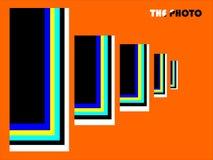 fotografi En ljus värld av färger stock illustrationer