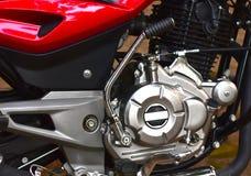 Fotografi för objekt för kroppsdelar för motor för cykel` s arkivfoto