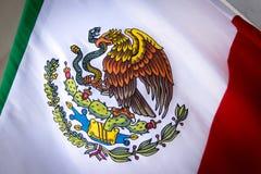 Fotografi Mexico för nationellt emblem arkivbilder