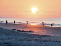 Fotografi på soluppgång Arkivbilder