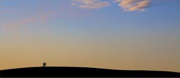 Fotografi sulla collina Immagine Stock