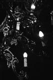 Świecznik w kościół Zdjęcia Royalty Free