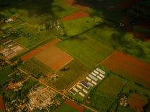 Fotografia aérea acima de Cuba Imagens de Stock Royalty Free
