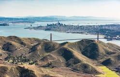 Fotografia aérea de San Francisco Bay Area foto de stock royalty free