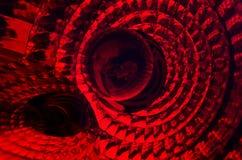 Fotografia abstrata com vermelho da cor completa da textura e da perspectiva fotos de stock