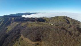 Fotografia aerea di rumeno Montains Fotografia Stock Libera da Diritti