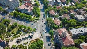 Fotografia aerea di Tianji TianjinTianjin fotografie stock libere da diritti