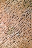 Fotografia aerea di un cimitero fotografie stock libere da diritti