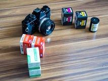 Fotografia analogica Fotografia Stock